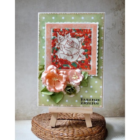 Kartka z różą