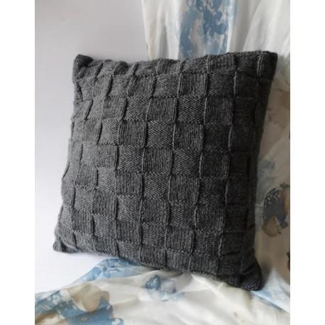 Poszewka na poduszkę szara
