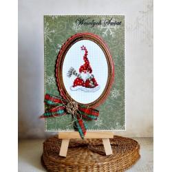 Mikołaj z szalikiem