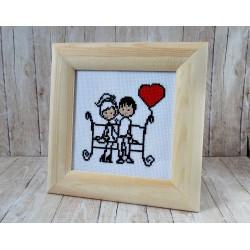 Para na ławeczce