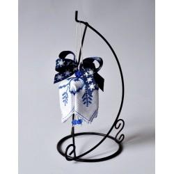 Dzwoneczek biało niebieski