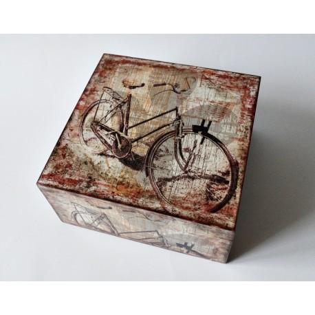 Pudełko z rowerem