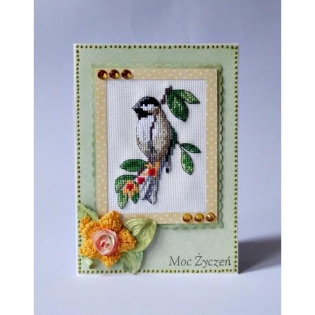 Kartka z ptaszkiem