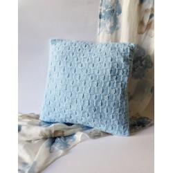 Poszewka na poduszkę niebieska