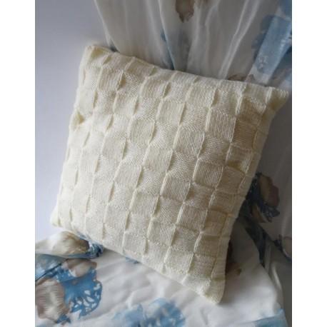 Poszewka na poduszkę biała 2