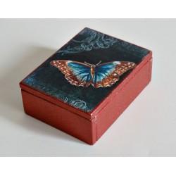 Pudełko z motylem