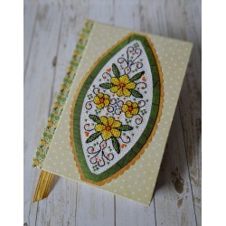 Notes z kwiatkami