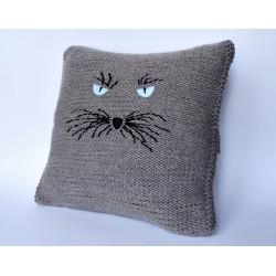 """Poszewka na poduszkę """"kot"""""""