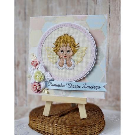 Kartka z aniołkiem 2